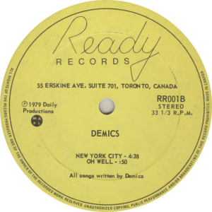 Demics Talks Cheap Label Side 2