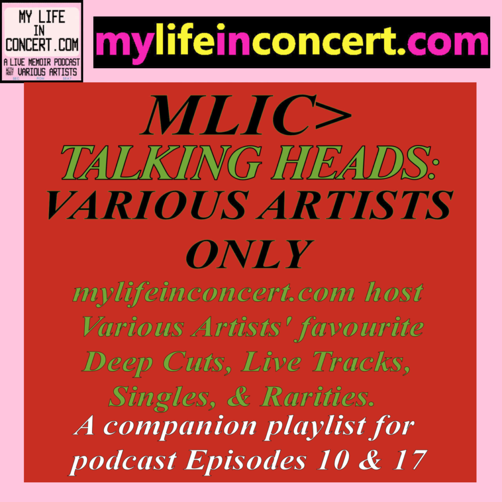 MLIC>Talking Heads: Various Artists Only