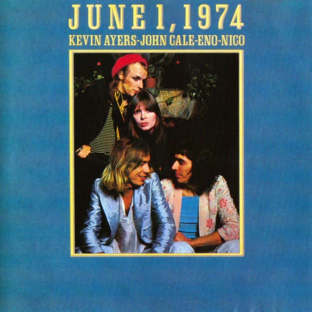 Kevin Ayers, John Cale, Brian Eno & Nico - June 1, 1974 - Front