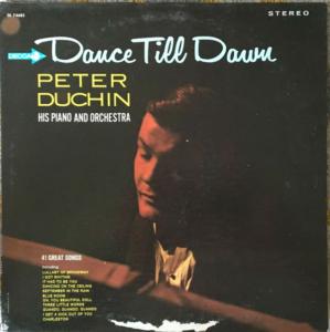 Peter Duchin Dance Till Dawn mylifeinconcert.com