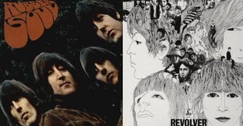 The Beatles Rubber Soul Revolver