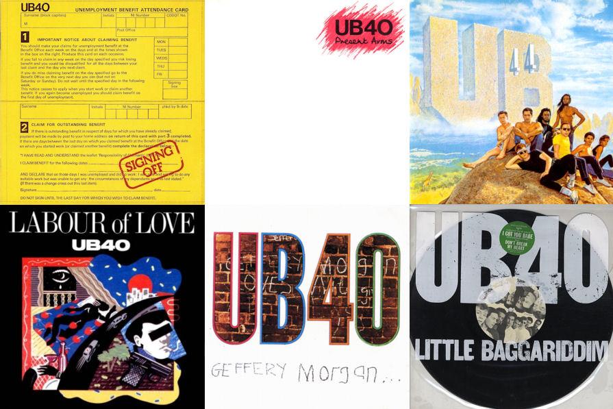 BLOG 6 UB40 LPs
