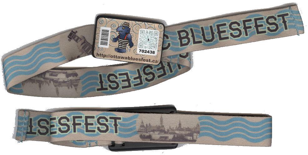 BLOG Bluesfest wristbands 2013