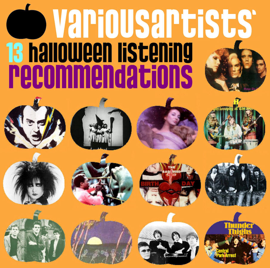variousartists 13 halloween listening recommendations