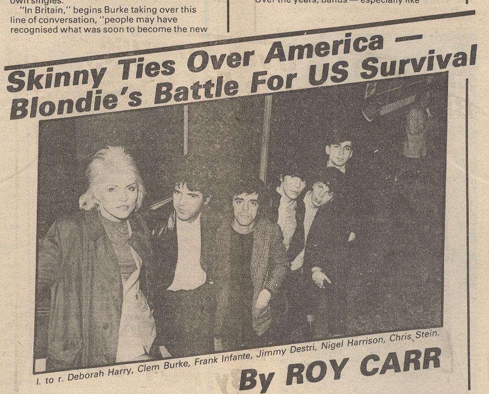 variousartists NME Sept 29 1979 Blondie Story Detail
