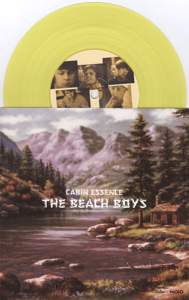 The Beach Boys Cabin Essence MOJO gold vinyl 45 VariousArtists
