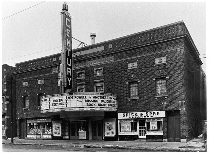 Danforth music Hall as Century Theatre 1939