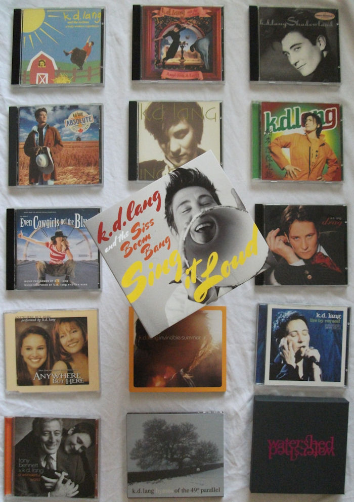 kd lang catalogue 1984 to 2011 BLOG
