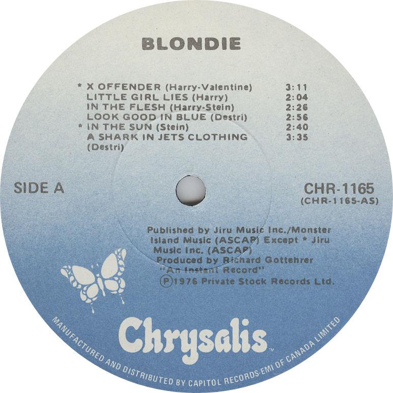 LABEL BLOG Blondie First Album variousartists