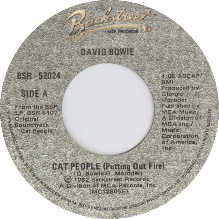 LABEL Cat People 45