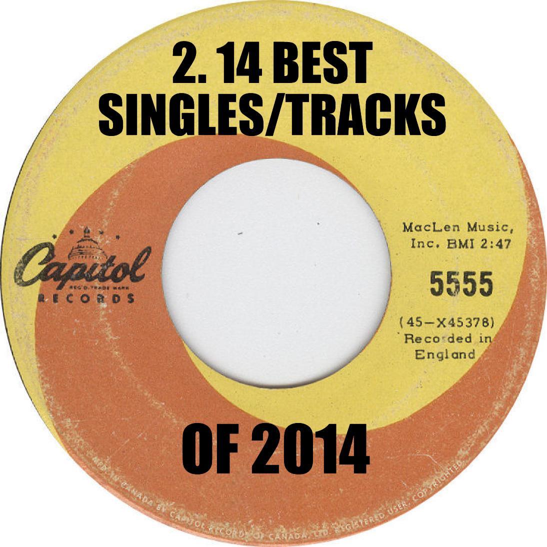 LVA 14 Best Singles or Tracks of 2014