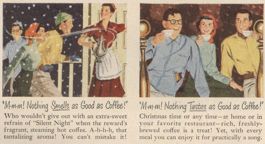 Life Dec 50 Coffee Sing Pretty DETAIL BLOG