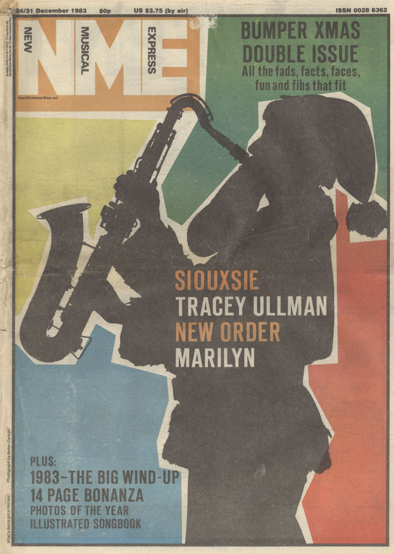 NME Dec 1983 Santa Cover BLOG
