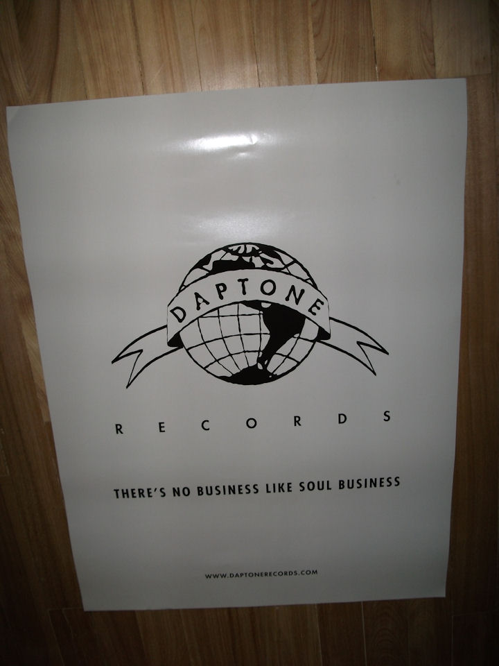 Daptone Records Poster. VariousArtists