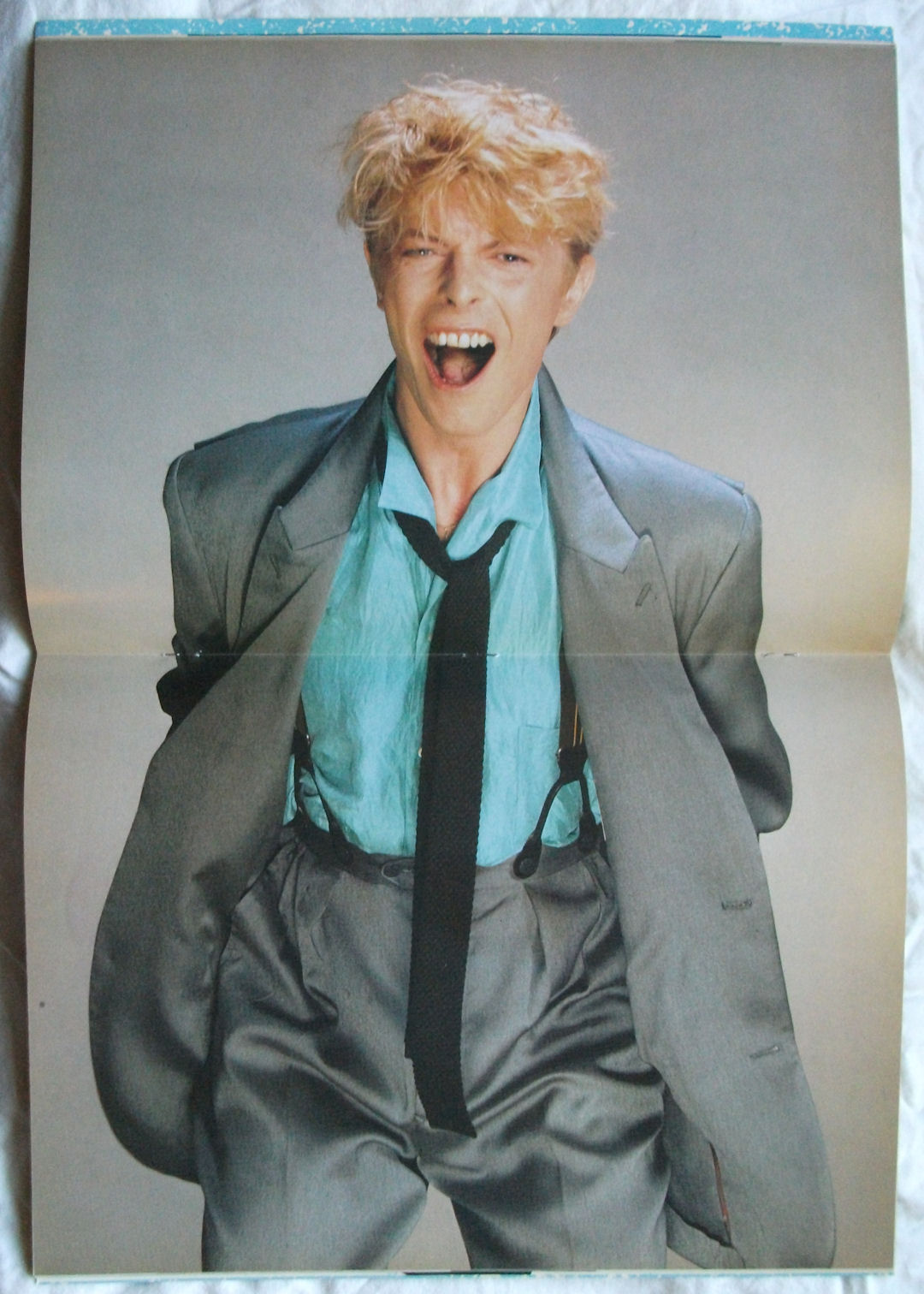 David Bowie Serious Moonlight Program Inside BLOG