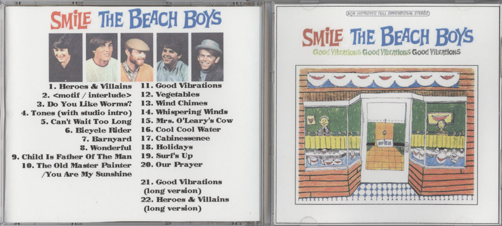 Smile Bootleg VariousArtists Beach Boys