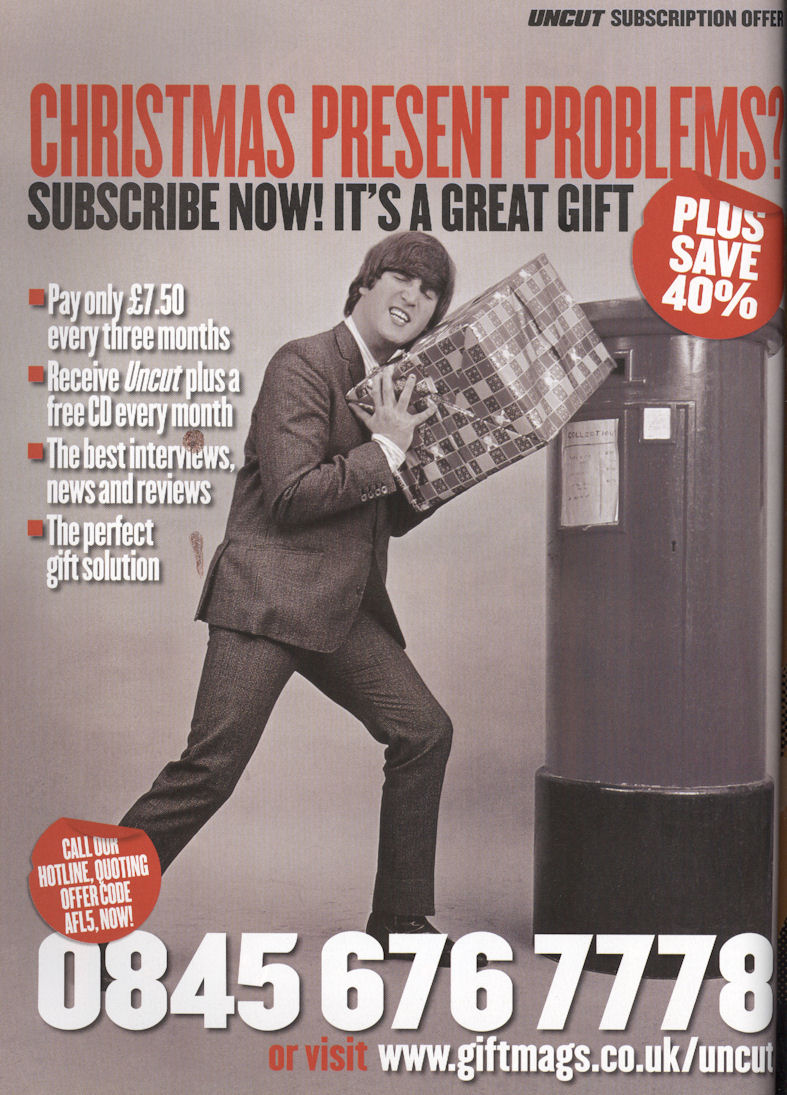Uncut Dec05 Lennon Subscription BLOG