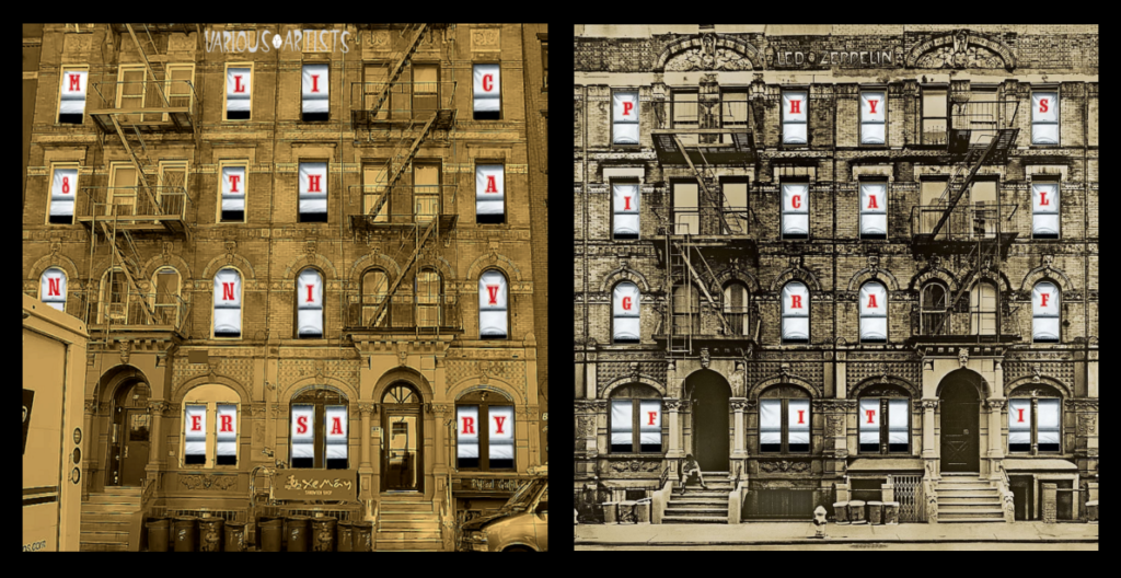 mylifeinconcert.com 8th Anniversary Led Zeppelin Physical Graffiti