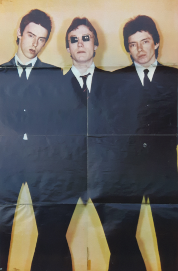 The Jam Pin-Up Story and Poster 1977 Inside Poster mylifeinconcert.com