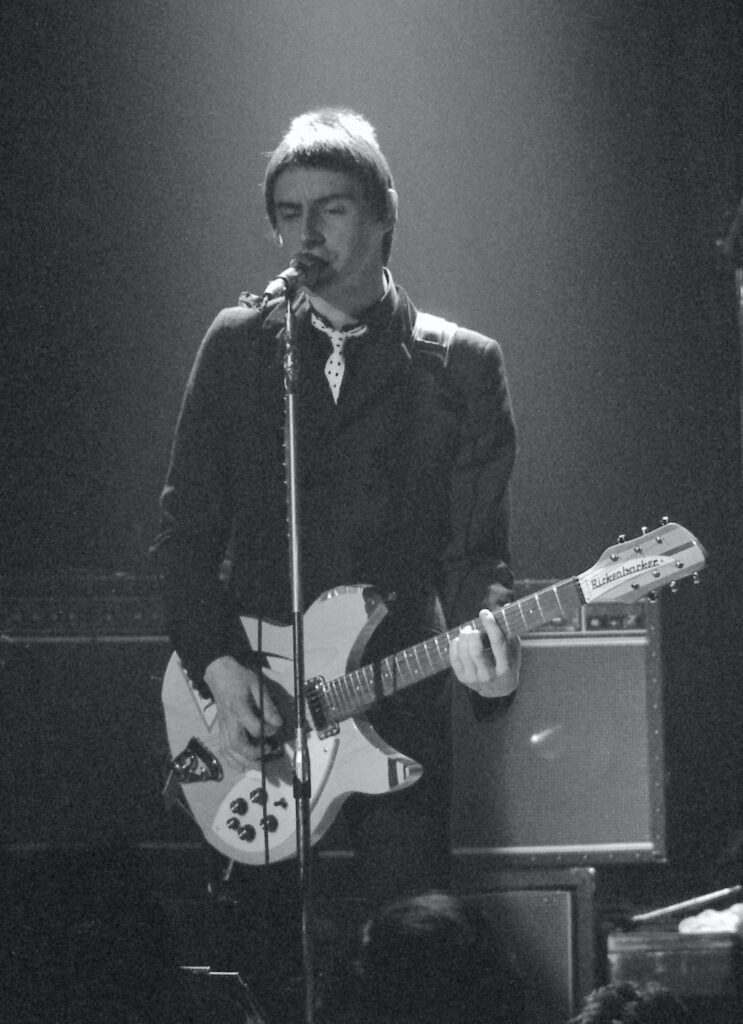 Paul Weller onstage at the Rex during the Jam's set, April 10, 1979.  Photo by Rob Gliddon.  mylifeinconcert.com