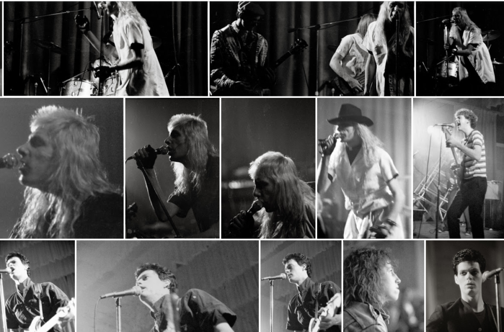 Reg Quinton Photo Montage Polish Hall November 2 1979 mylifeinconcert.com