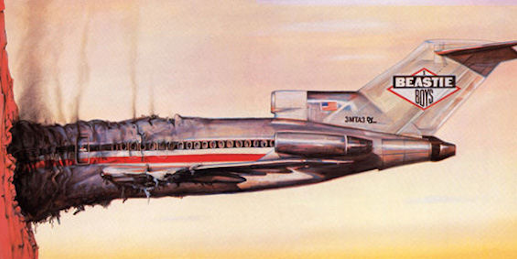 Beastie Boys, Licensed To Ill, Full Cover