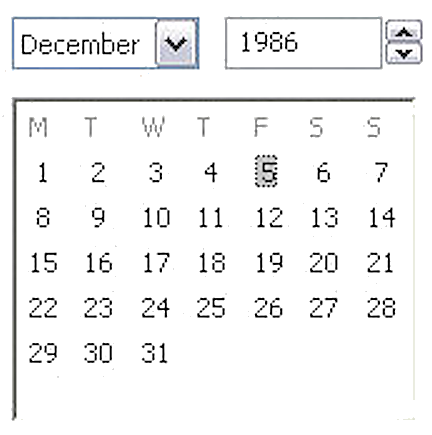 mylifeinconcert.com, December 5 1986, Argyle Mall