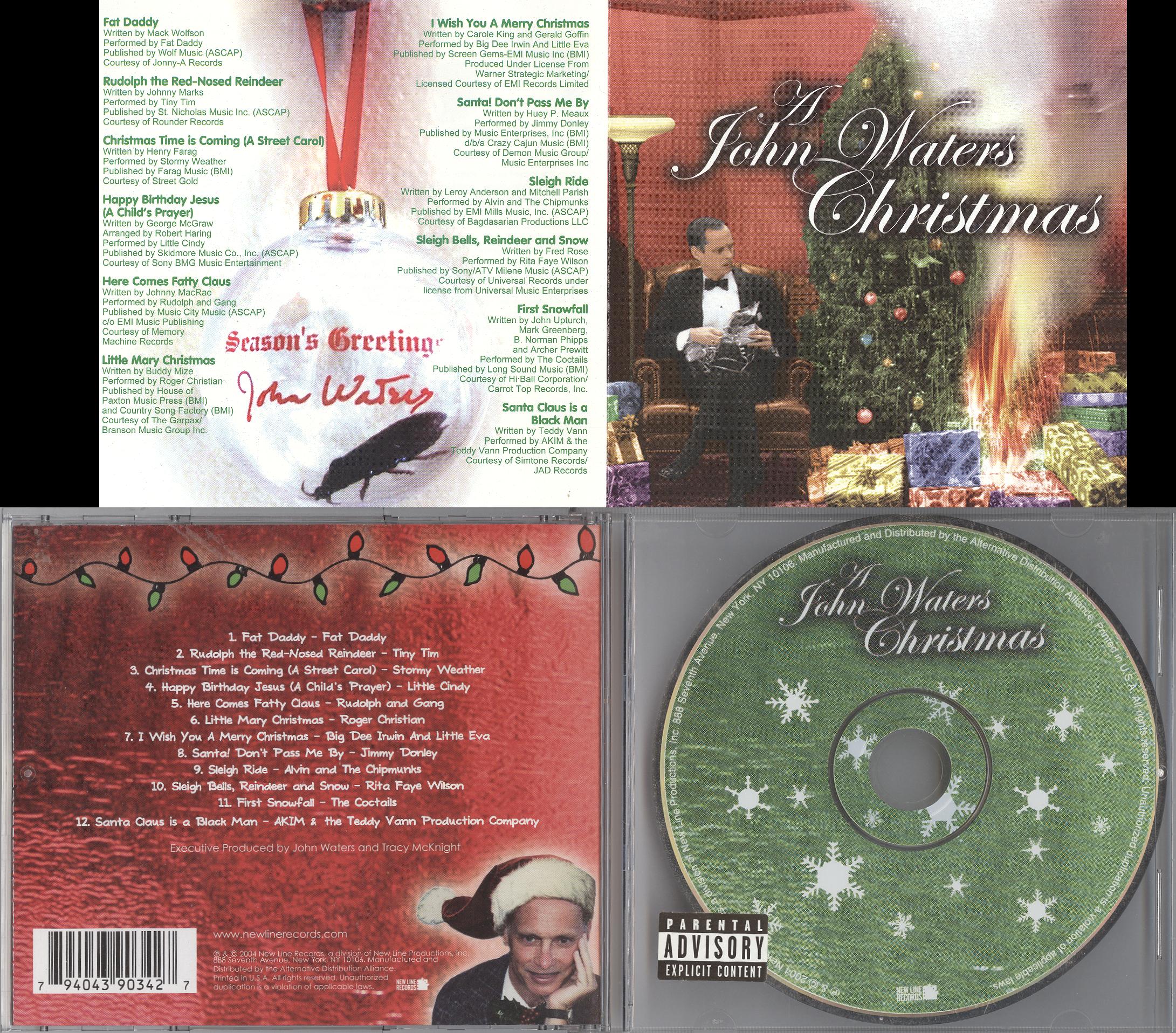 A John Waters Christmas, mylifeinconcert.com