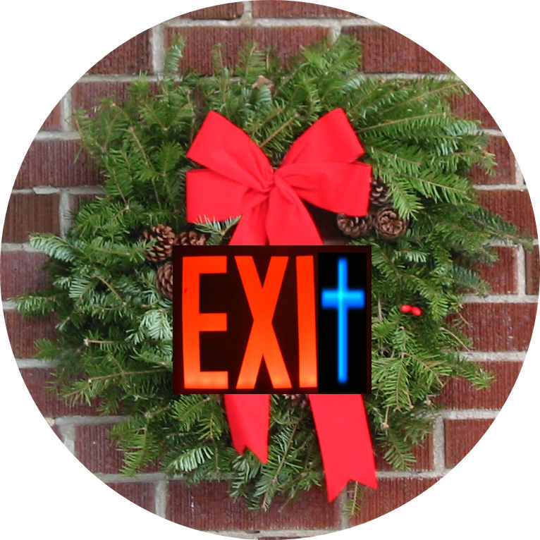 Exit Wreath, mylifeinconcert.com, December 1986. My 3 Xmas Weekends From Hell
