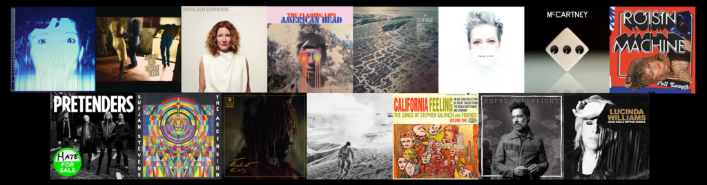 MyLifeInConcert.com Best Albums of 2020 A List