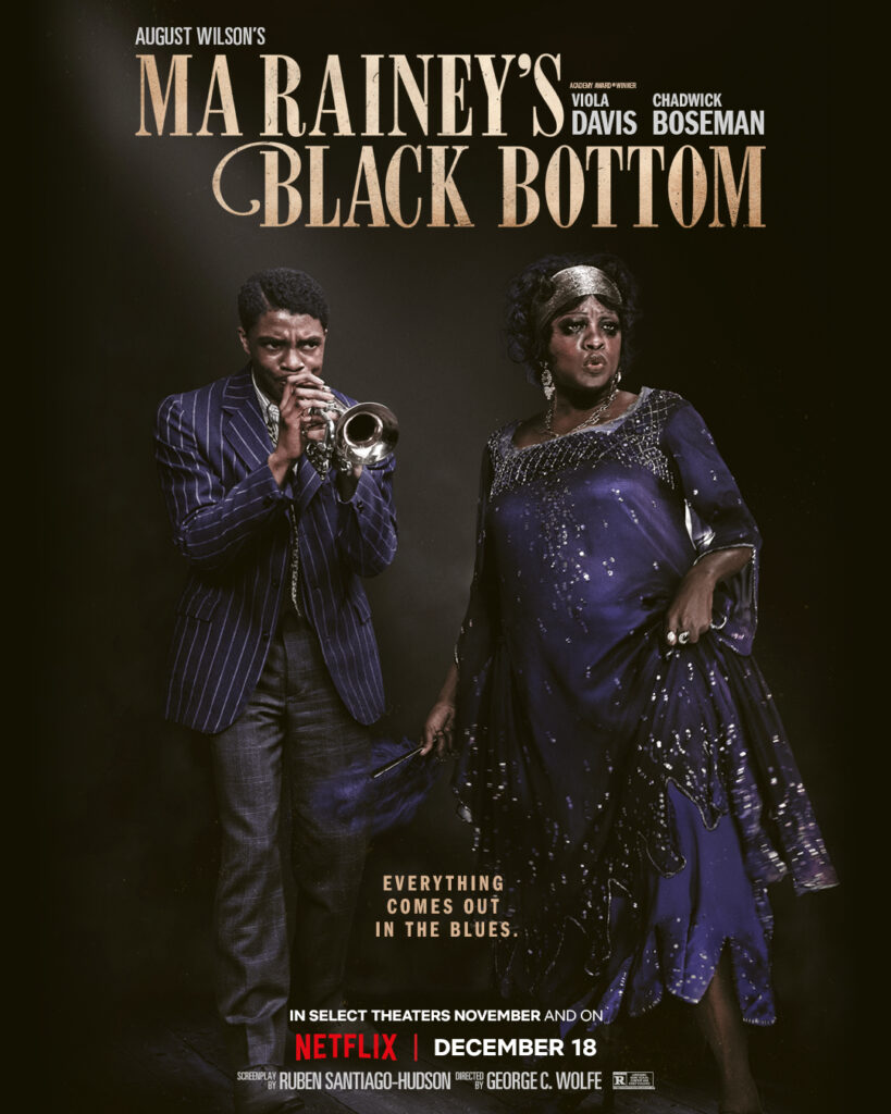 Ma Rainey's Black Bottom Poster Best of 2020 MyLifeInConcert.com