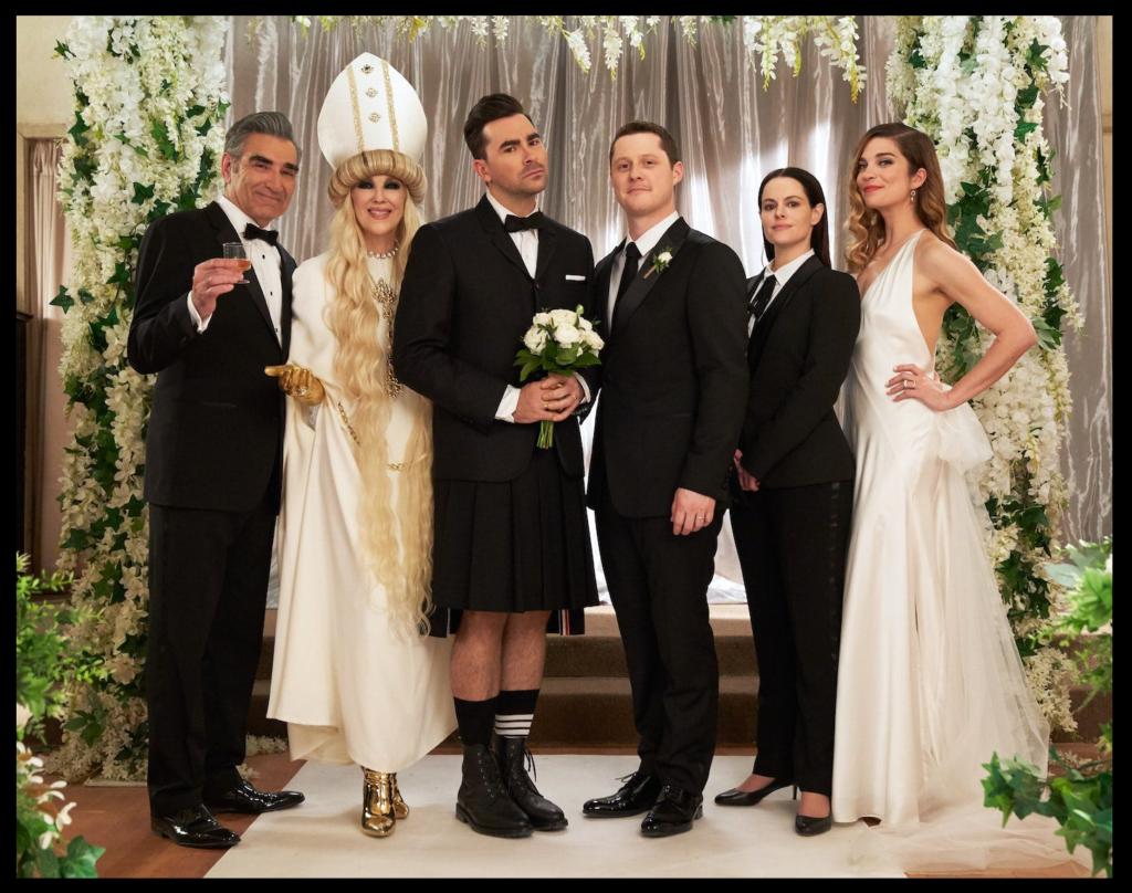 Schitt's Creek Wedding MyLifeInConcert.com Best TV of 2020