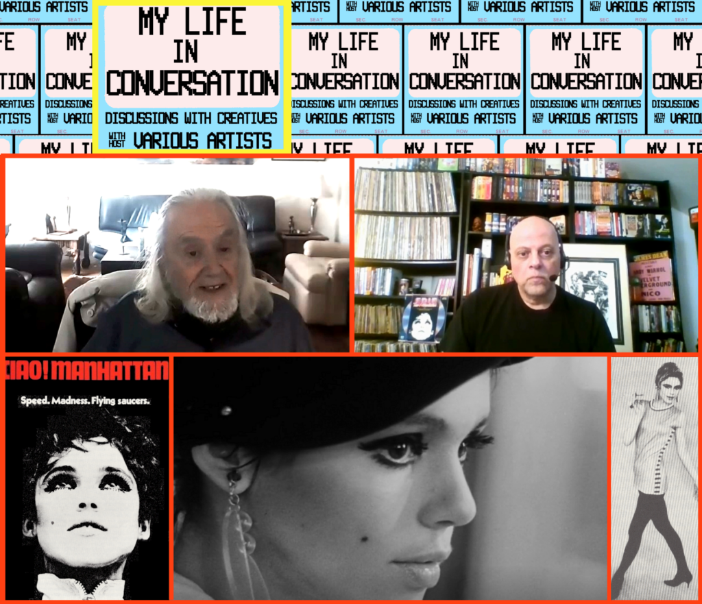 Robert Margouleff talks Ciao! Manhattan & Edie Sedgwick: My Life In Conversation, EP001, mylifeinconcert.com