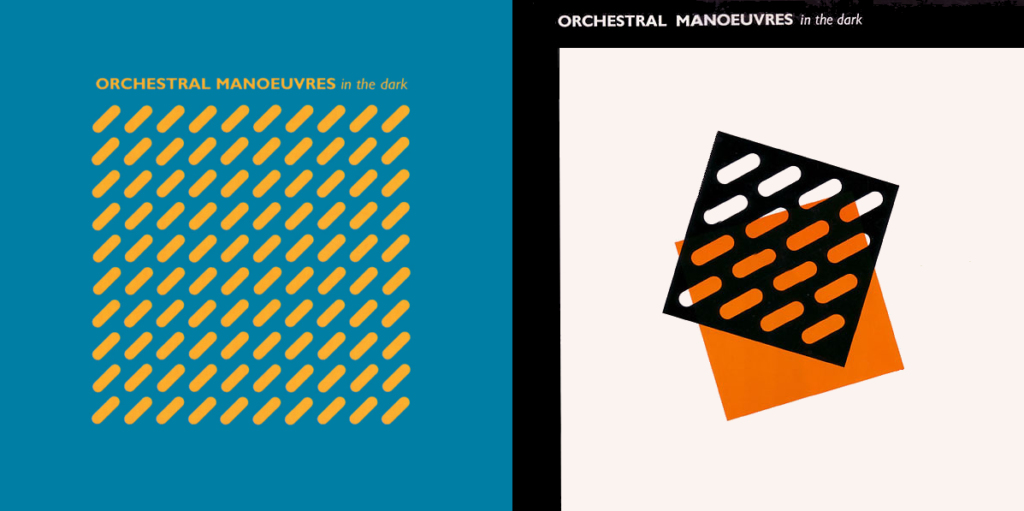OMD UK and Canadian Covers for Debut LP 1980 mylifeinconcert.com