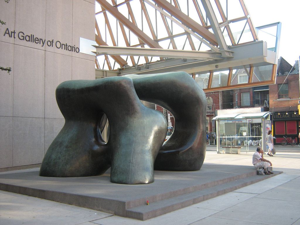 Henry Moore Sculpture AGO